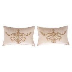 Pair of B.Viz Design Textile Pillows