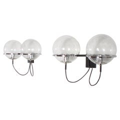 Pair of C-1726 Sconces by Frank Ligtelijn for RAAK Amsterdam, 1960s