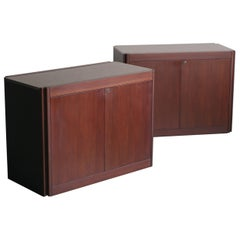 Pair of Cabinets by Angelo Mangiarotti
