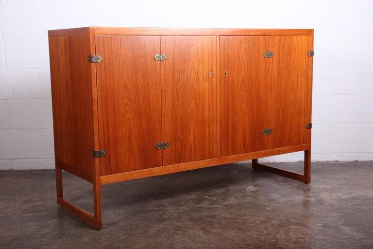 Pair of Cabinets by Børge Mogensen For Sale 5