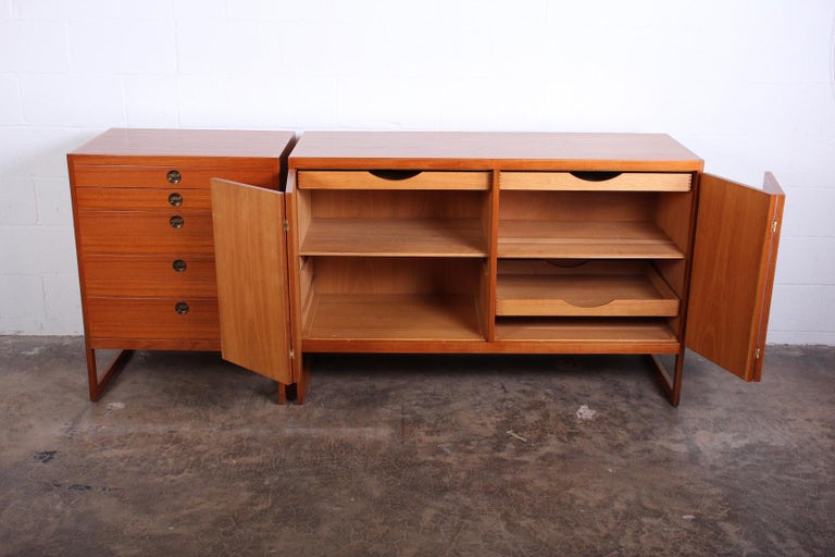 Pair of Cabinets by Børge Mogensen For Sale 1