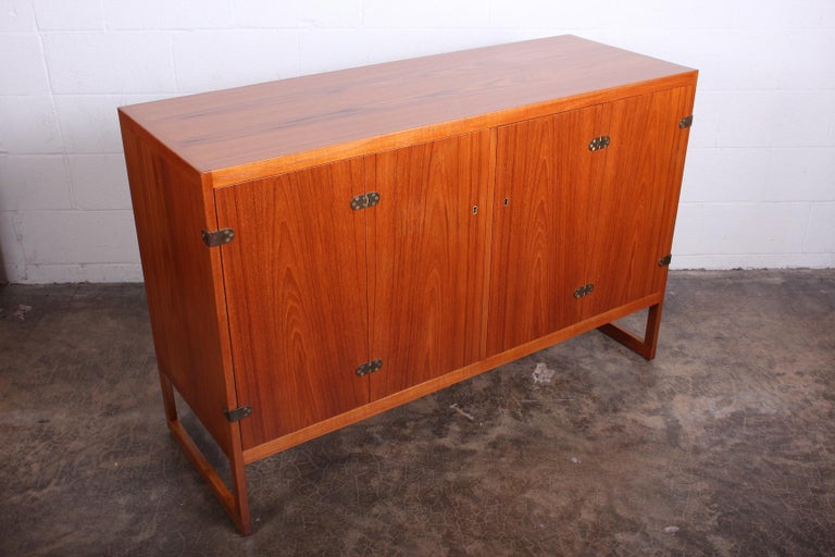 Pair of Cabinets by Børge Mogensen For Sale 4