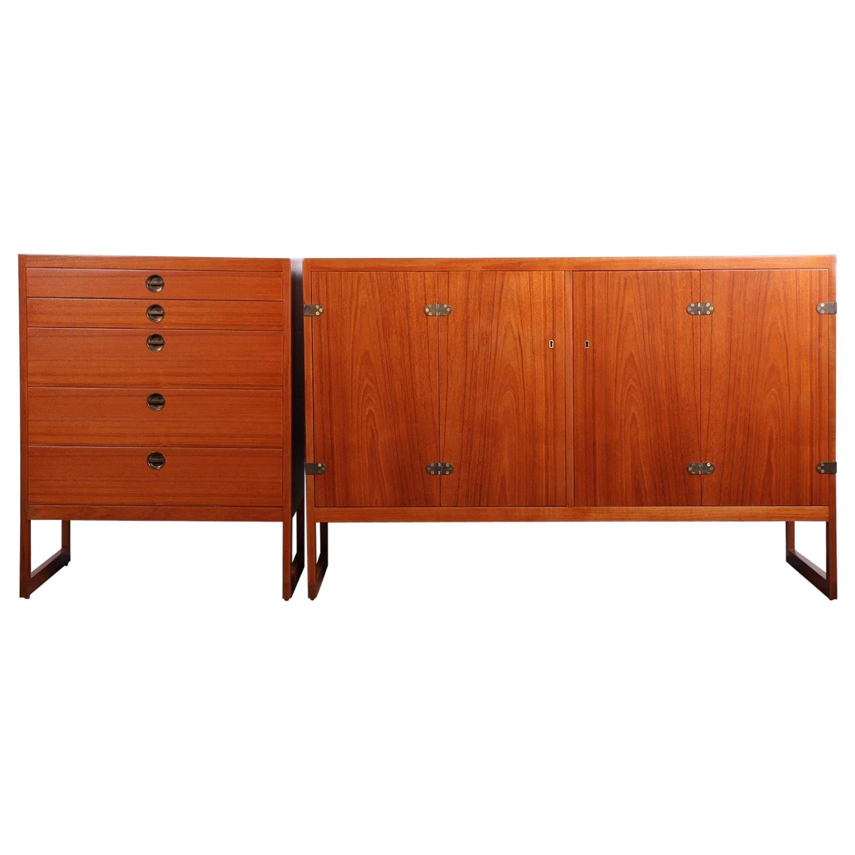 Pair of Cabinets by Børge Mogensen