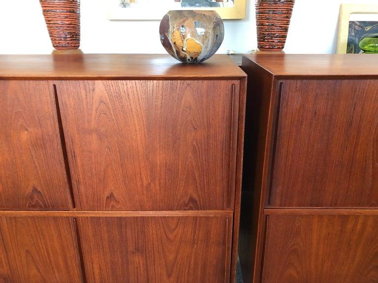 Pair of Cabinets by Hvidt & Mølgaard in Teak For Sale 6