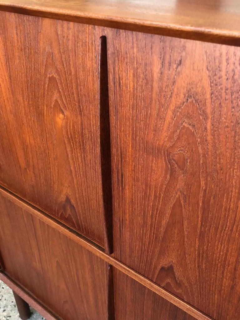 Danish Pair of Cabinets by Hvidt & Mølgaard in Teak For Sale