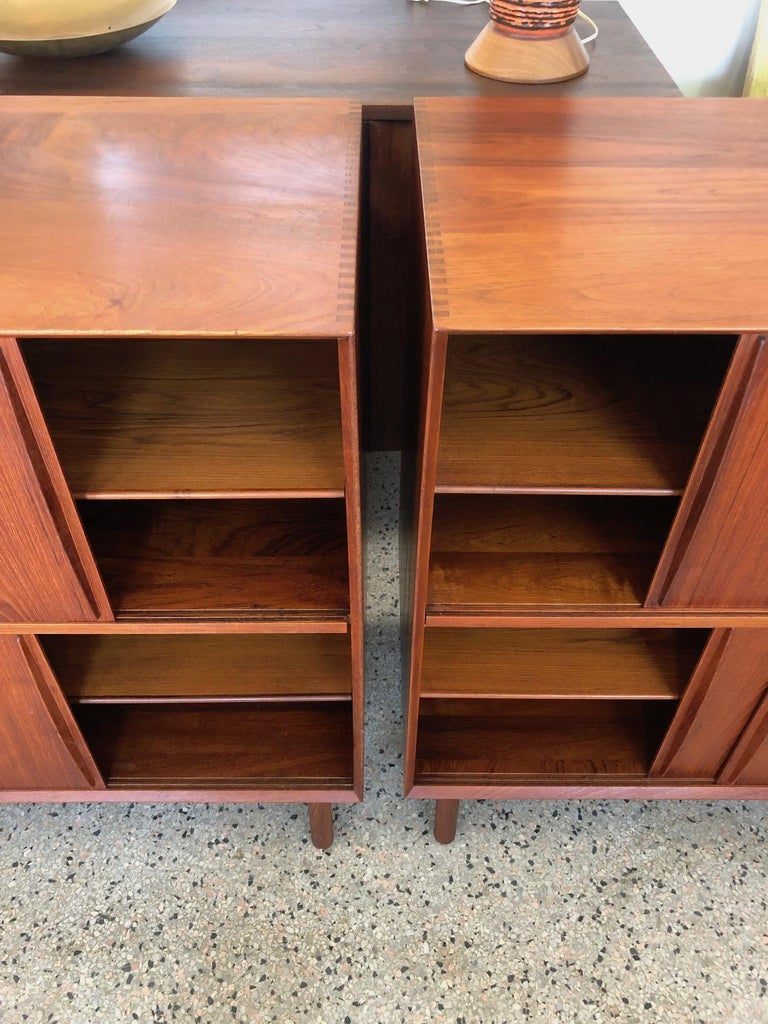 Pair of Cabinets by Hvidt & Mølgaard in Teak For Sale 2