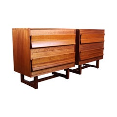 Pair of Cabinets by Paul Laszlo for Brown Saltman