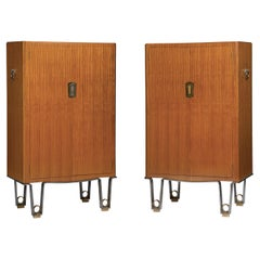 Pair of Cabinets Designed by Dominique, Andre Domin & Marcel Genevriere
