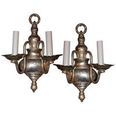 Pair of  Caldwell  Sconces  ca 1920's