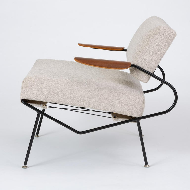 Pair of California Modern Lounge Chairs by Dan Johnson for Selig For Sale 2