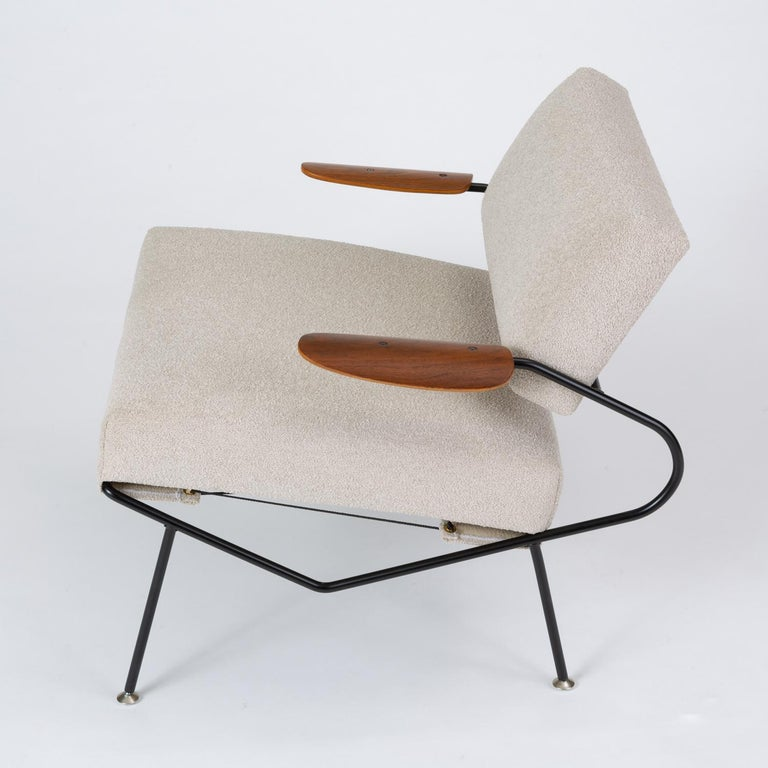 Pair of California Modern Lounge Chairs by Dan Johnson for Selig For Sale 3
