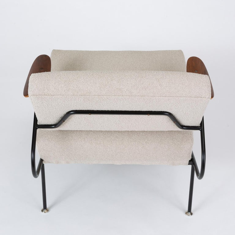 Pair of California Modern Lounge Chairs by Dan Johnson for Selig For Sale 4