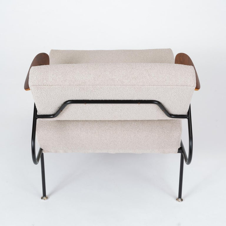 Pair of California Modern Lounge Chairs by Dan Johnson for Selig For Sale 5