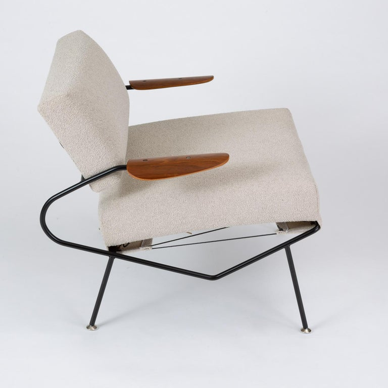 Pair of California Modern Lounge Chairs by Dan Johnson for Selig For Sale 6