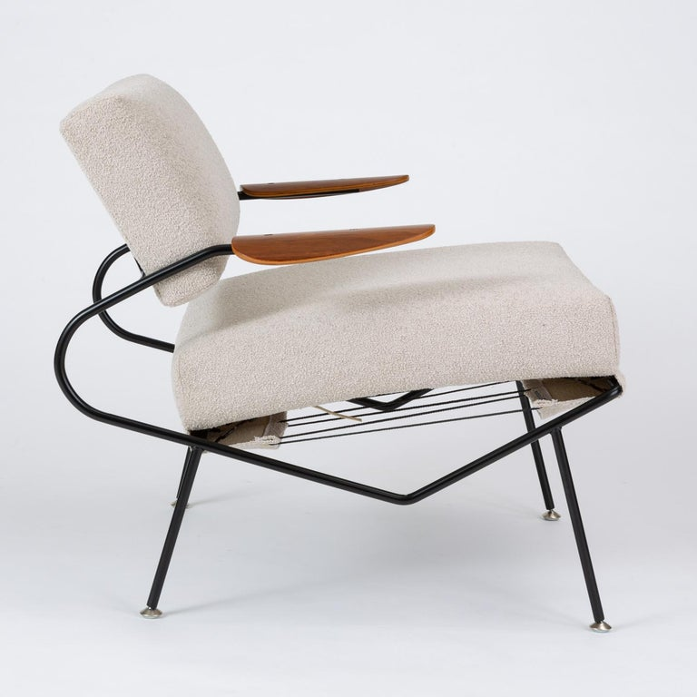 Pair of California Modern Lounge Chairs by Dan Johnson for Selig For Sale 7