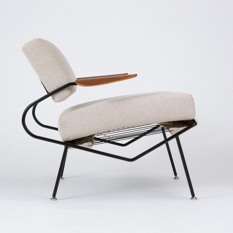 Pair of California Modern Lounge Chairs by Dan Johnson for Selig For Sale 8