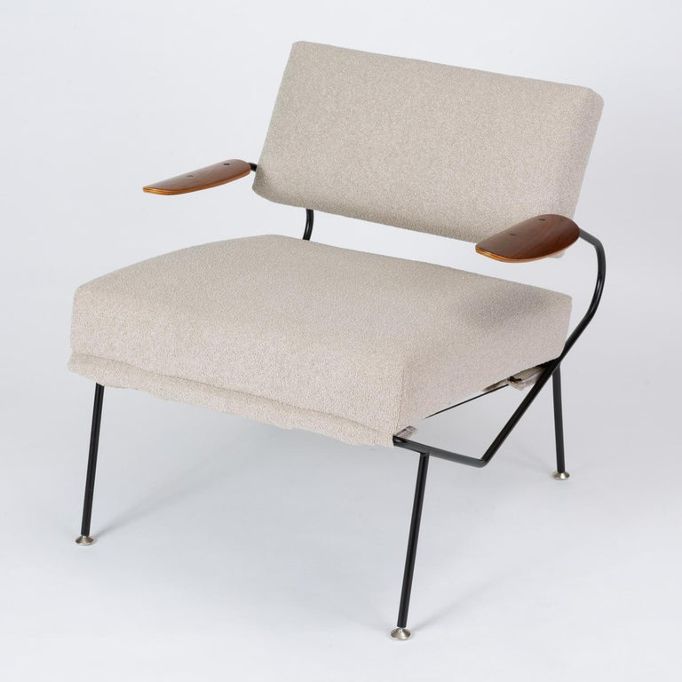 Mid-20th Century Pair of California Modern Lounge Chairs by Dan Johnson for Selig For Sale