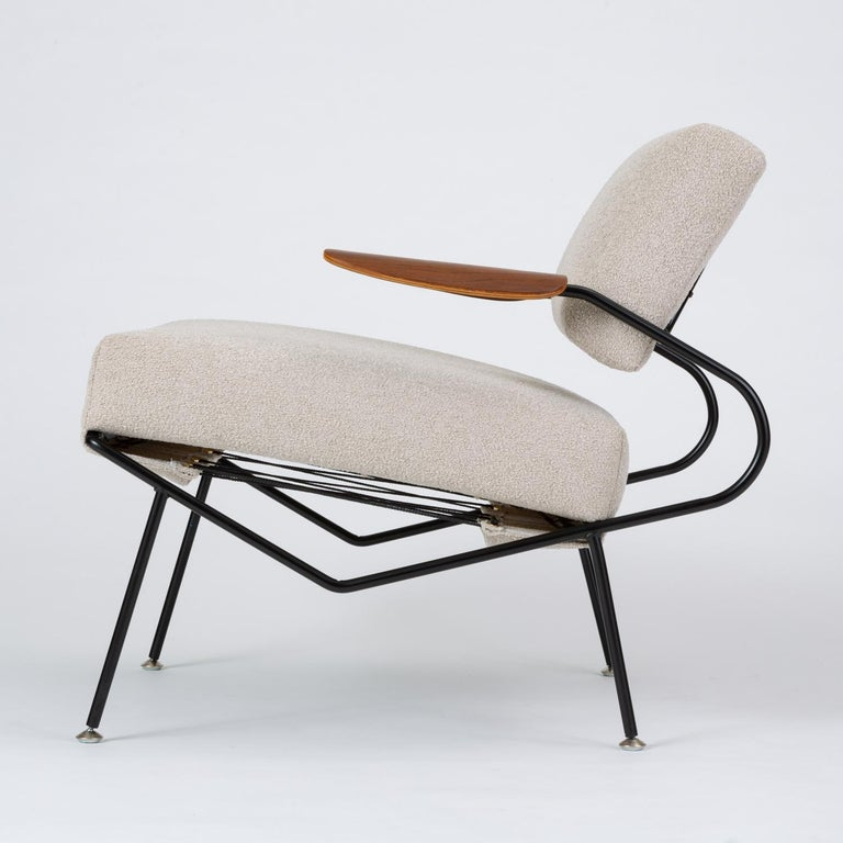 Pair of California Modern Lounge Chairs by Dan Johnson for Selig For Sale 1