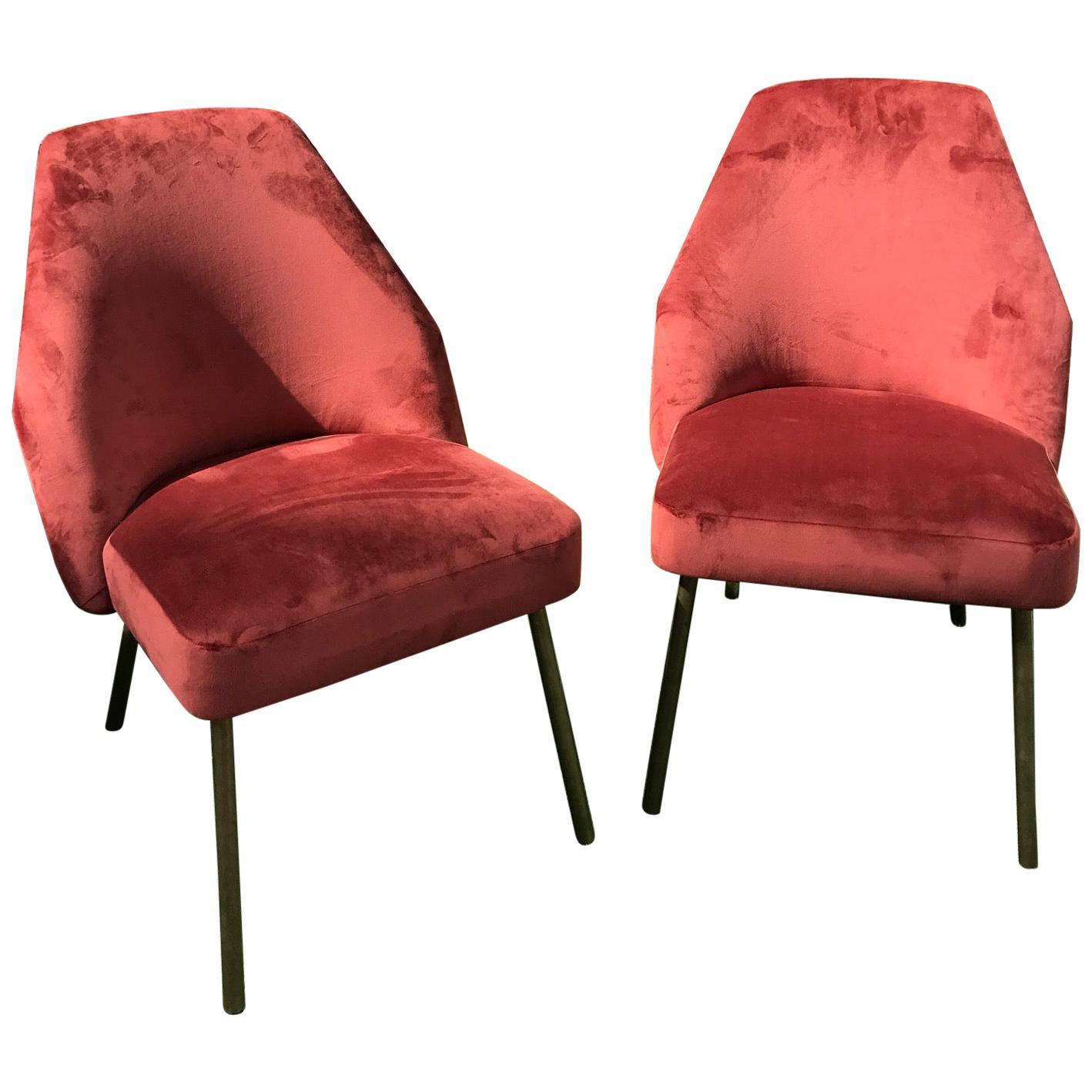 Pair of Campanula Chairs by Carlo Pagani for Arflex