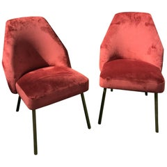 Pair of Campanula Chairs by Carlo Pagani for Arflex