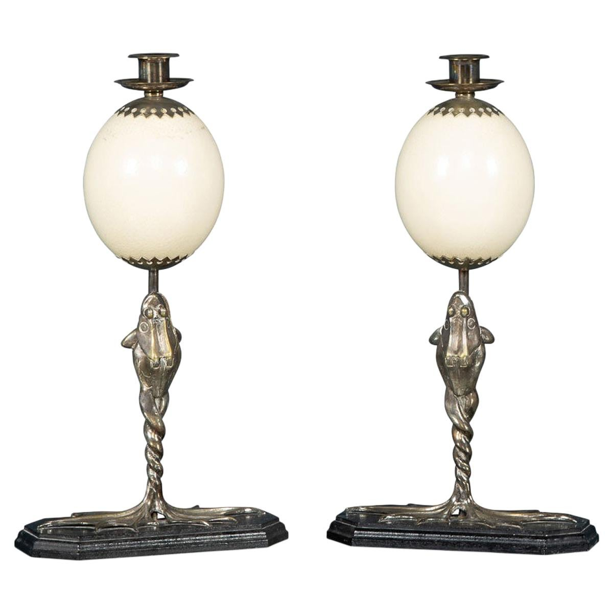Pair of Candlesticks by Anthony Redmile, London, circa 1970