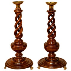 Pair of Candlesticks, circa 1900