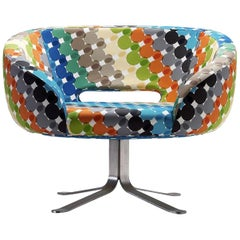 1 of the 4  Cappelini Walt Disney Limited Edition Rive Droite Swivel Chairs