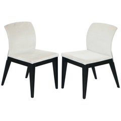 Pair of Car Designer Pininfarina for Reflex Angelo Occasional Chairs