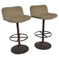 "Pair of ""Caribe"" Stools by Ilmari Tapiovaara"