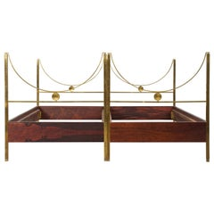 Pair of Carlo de Carli Beds