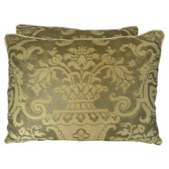 Pair of Carnavalet Patterned Fortuny Pillows