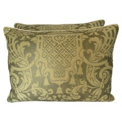 Pair of Carnavalet Patterned Pillows