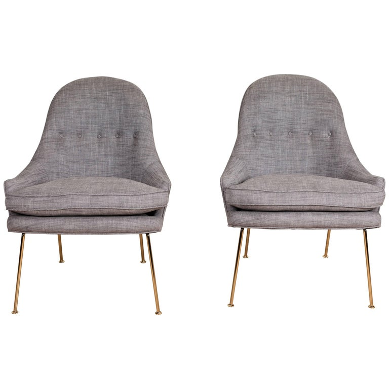 Pair of Carthay Chairs by Lawson-Fenning For Sale