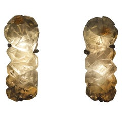 GFS Rock Crystal Sconces By Phoenix