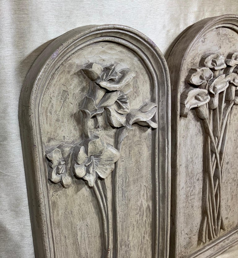 Pair of Carved Wall ‏Hanging For Sale 6