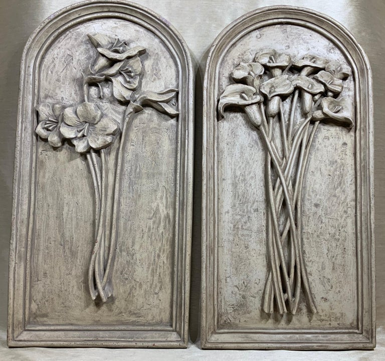 American Pair of Carved Wall ‏Hanging For Sale