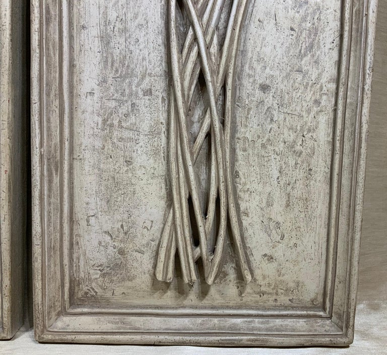 Late 20th Century Pair of Carved Wall ‏Hanging For Sale