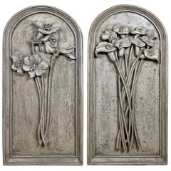 Pair of Carved Wall ‏Hanging