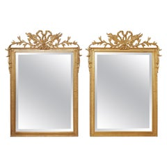 Pair of Carver's Guild French Hunt Mirrors