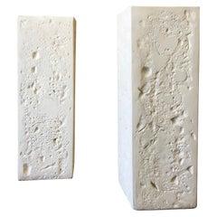 Pair of Cast Stone Pedestals