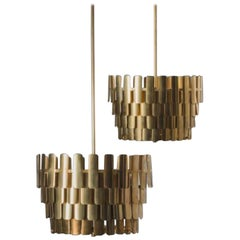 Pair of Ceiling Lights by Hans-Agne Jakobsson
