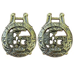 Pair of Celtic Horse Brasses