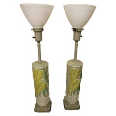 Pair of Ceramic Rembrandt Table Lamps