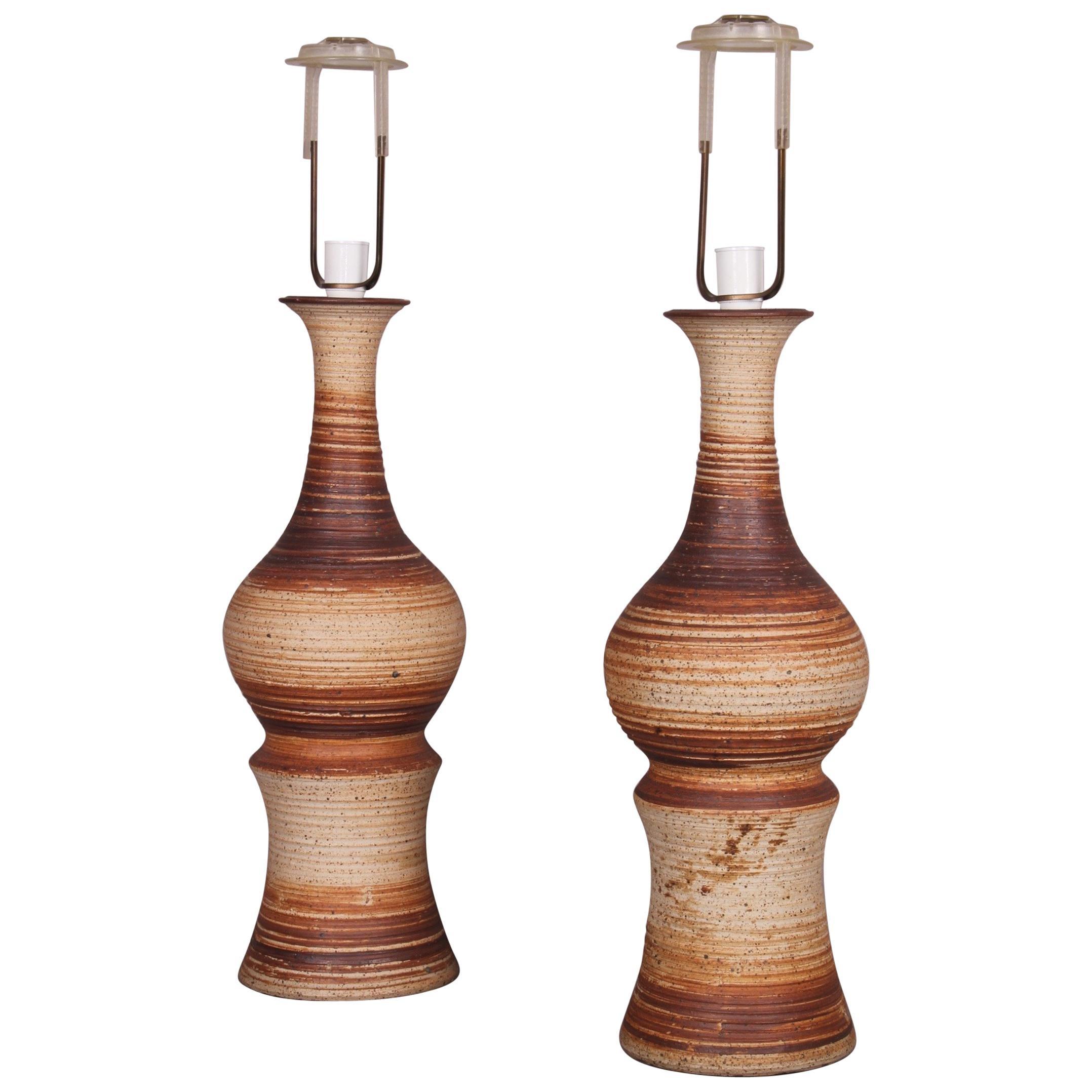 Pair of Ceramic Table Lamp