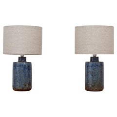 Pair of Ceramic Table Lamps by Marianne Westman for Rörstrand