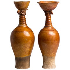 Pair of Ceramic Vases, Liao Dinasty, China, 10th-12th Century