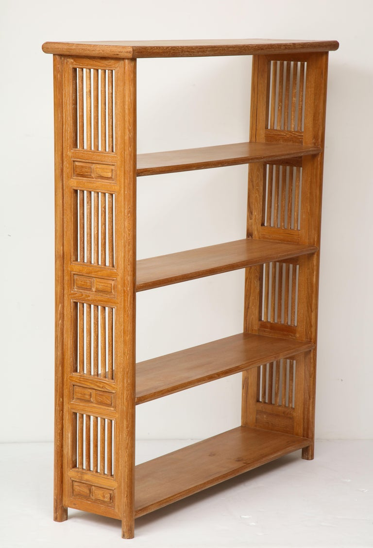 20th Century Pair of Cerused Oak Bookcases in the Vienna Secessionist Manner For Sale