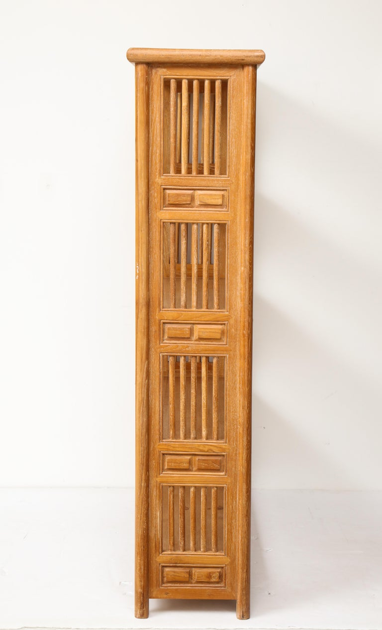 Pair of Cerused Oak Bookcases in the Vienna Secessionist Manner For Sale 2