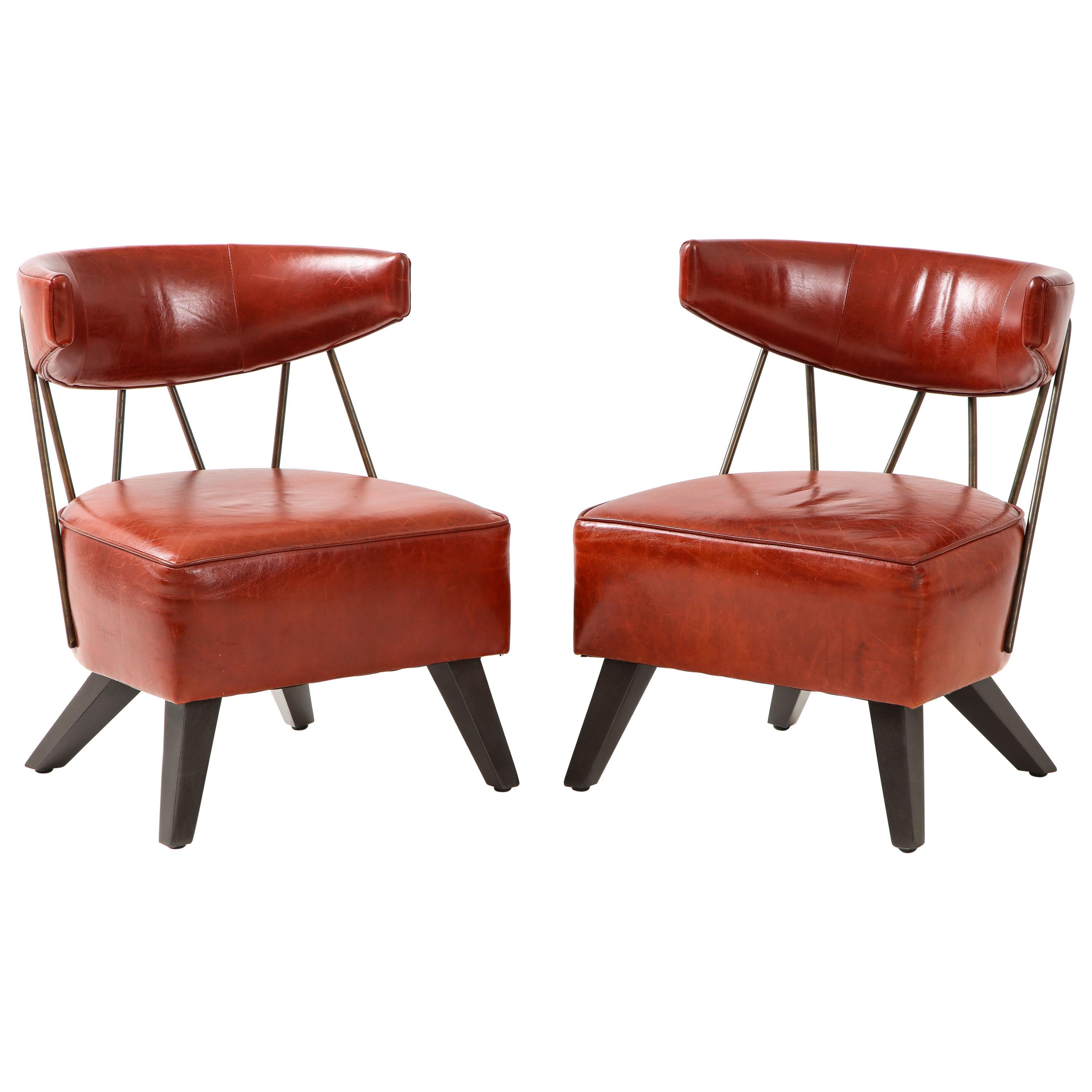 Pair of Chairs in the Style / Attributed  to Billy Haines