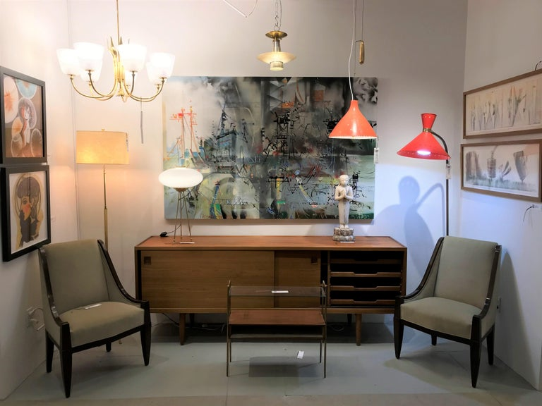 Pair of Chairs by André Sornay For Sale 3